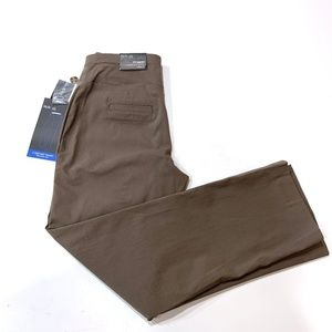 Style & CO Straight Leg Comfort Waist Pants Taupe